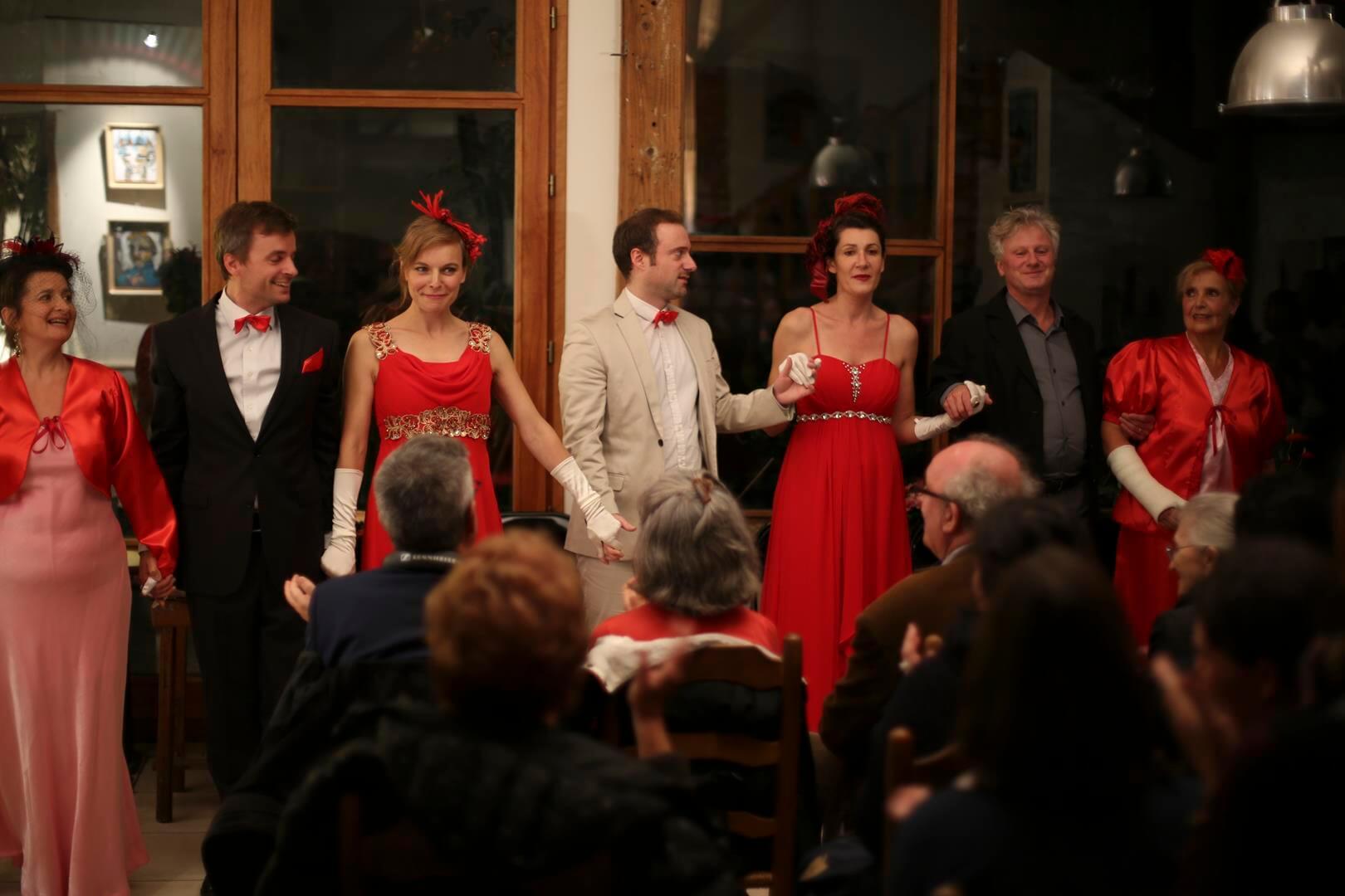Récital lyrique pour l'association le Ratrait et le théâtre de Ménilmontant Paris XXème