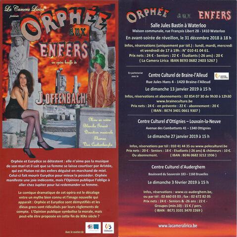 Orphée au Enfers - J.Offencach
